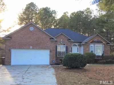 Wake Forest Single Family Home Contingent: 3520 Coach Lantern Avenue