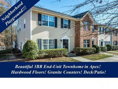Apex Townhouse Contingent: 158 Forthview Way