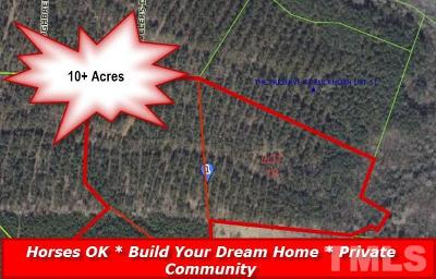 Johnston County Residential Lots & Land For Sale: Arabian Drive