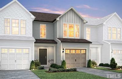 Durham County Townhouse For Sale: 1055 Laceflower Drive #SP Lot 2