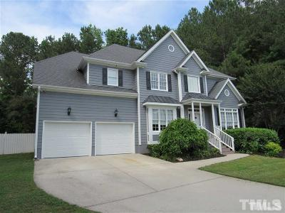 Wake Forest Single Family Home For Sale: 2508 Forest Lake Court