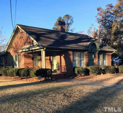 Granville County Single Family Home For Sale: 108 Military Street