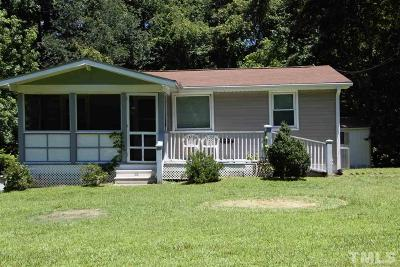 Pittsboro NC Single Family Home For Sale: $275,000