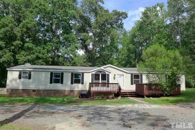Pittsboro NC Single Family Home For Sale: $249,000