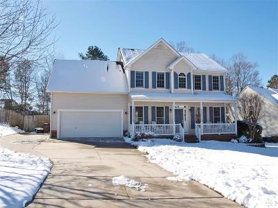 Wake Forest Single Family Home Pending: 2812 Stirrup Court