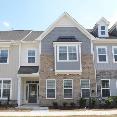 Durham County Townhouse For Sale: 1205 Great Egret Way