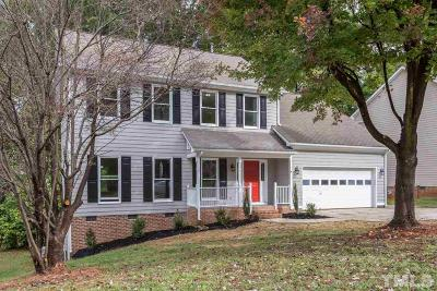 Cary Single Family Home Contingent: 102 Cobalt Drive