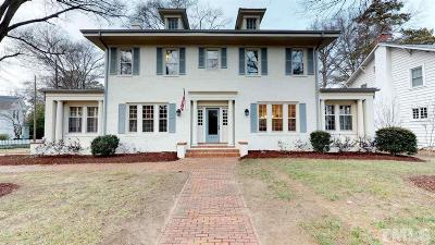 Raleigh Single Family Home For Sale: 1403 Wake Forest Road