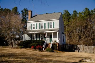 Wake Forest Single Family Home Pending: 900 Big Bend Court