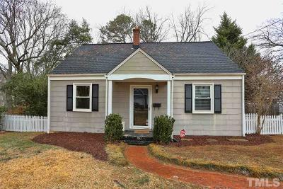 Wake County Single Family Home Contingent: 605 Mills Street