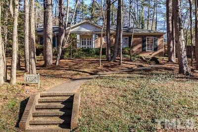 Raleigh Single Family Home For Sale: 3700 Shadybrook Drive