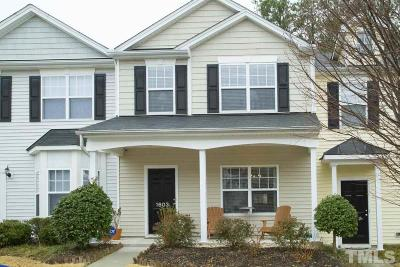 Durham County Townhouse Contingent: 1725 Tw Alexander Drive #1603
