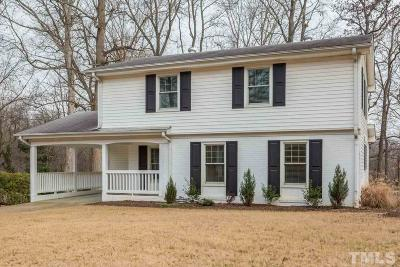 Cary Single Family Home For Sale: 1125 Ralph Drive