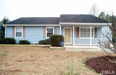 Durham Single Family Home Contingent: 606 Buxton Street