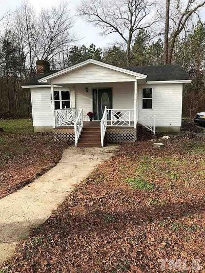 Zebulon Single Family Home Contingent: 8318 Nc 39 Highway