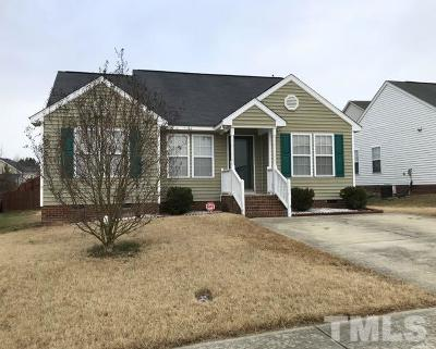 Knightdale Single Family Home Contingent: 5213 Limewood Street