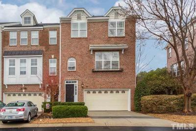 Raleigh Townhouse For Sale: 3009 Imperial Oaks Drive