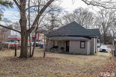 Durham County Single Family Home For Sale: 1021 Holloway Street