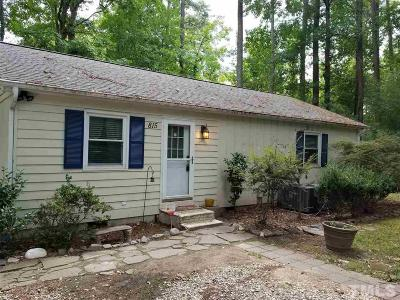 Cary Single Family Home For Sale: 815 Griffis Street