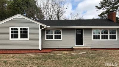 Single Family Home For Sale: 1511 Juniper Street
