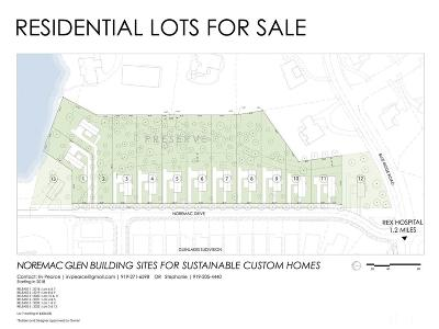Raleigh Residential Lots & Land For Sale: 3824 Noremac Drive