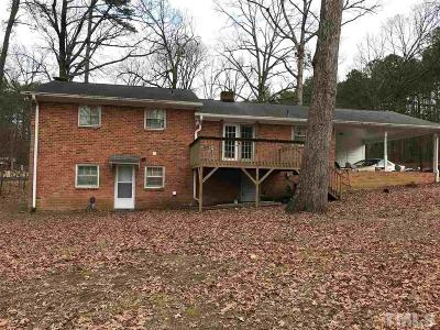 Durham County Single Family Home Pending: 6424 Amhurst Road