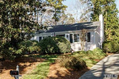 Wake County Single Family Home For Sale: 112 W Drewry Lane