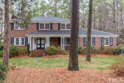 Raleigh Single Family Home For Sale: 4912 Hermitage Drive