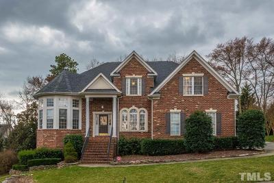 Wake County Single Family Home For Sale: 2808 Stratford Hall Drive