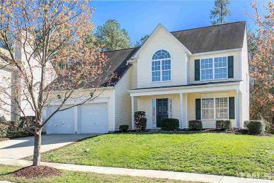 Holly Springs Single Family Home For Sale: 109 Talley Ridge Drive