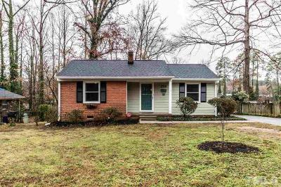 Raleigh Single Family Home For Sale: 2420 Derby Drive