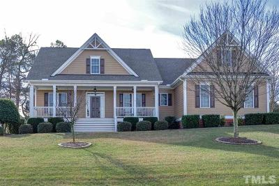 Holly Springs Single Family Home Contingent: 101 Triple Crown Trail
