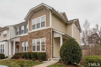 Raleigh Townhouse For Sale: 6055 Viking Drive