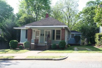 Raleigh Multi Family Home For Sale: 503 Cole Street
