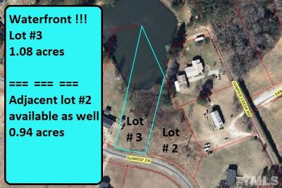 Lee County Residential Lots & Land For Sale: Lot 3 Sunrise Drive