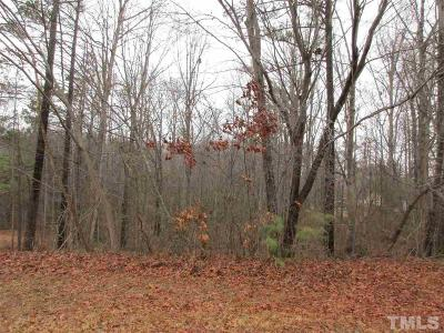 Wake County Residential Lots & Land Contingent: 4721 Edwards Drive