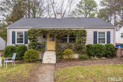 Raleigh Single Family Home For Sale: 707 Monroe Drive
