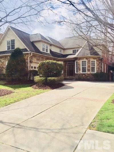 Wake County Single Family Home For Sale: 8809 Barleymoor Drive