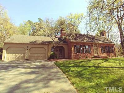 Orange County Single Family Home For Sale: 605 Sugarberry Road
