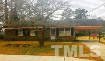 Sampson County Single Family Home Pending: 403 Barden Street