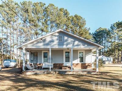 Johnston County Single Family Home For Sale: 2751 & 2767 Nc 231 Highway