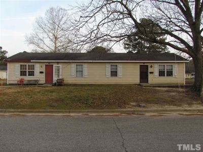 Johnston County Multi Family Home For Sale: 102 S Church Street