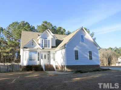 Wendell Single Family Home For Sale: 2845 Praire View Point