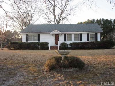 Zebulon Single Family Home Pending: 1616 Mack Todd Road