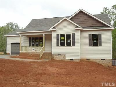 Youngsville NC Single Family Home Pending: $179,900