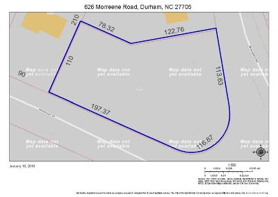 Durham County Residential Lots & Land For Sale: 626 Morreene Road