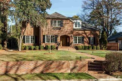Wake County Single Family Home For Sale: 2624 Wells Avenue
