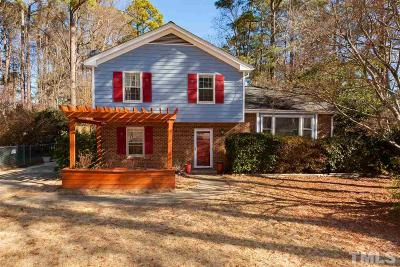 Raleigh Single Family Home For Sale: 7708 Fiesta Way
