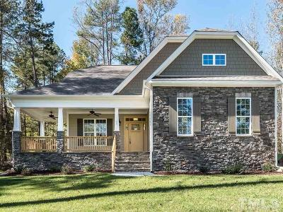 Pittsboro NC Single Family Home Pending: $354,950