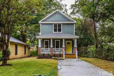 Raleigh Single Family Home For Sale: 202 Bart Street